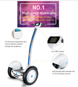 Outdoor Electric Two Wheels City Balancing Scooter with Handle pictures & photos