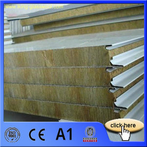 Heat Insulation Rockwool Composite Board pictures & photos