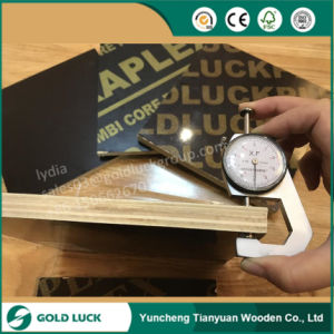 18mm 3 4 Cheap Concrete Formwork Waterproof Film Faced Panel Marine Grade Phenolic Poplar Plywood Sheets pictures & photos