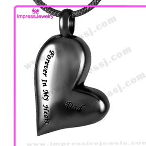Stainless Steel Jewelry Heart Cremation Pendant Necklace (Forever in my heart) pictures & photos