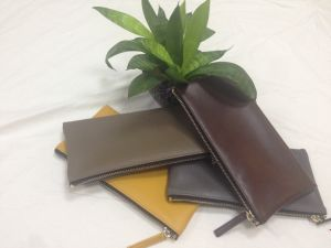 Hot New Designs Cow Leather Women Wallet Zipper Pouch (WA25) pictures & photos