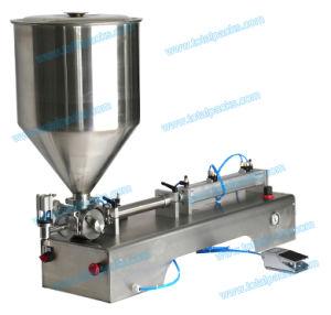 Semi-Automatic Single Nozzle Bottle Filling Machine for Cream/Ointment/Paste (FLC-150S) pictures & photos