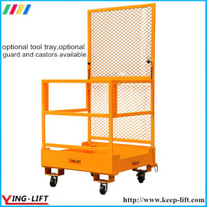 Durable and Sturdy Forklift Attachment Working Platform pictures & photos