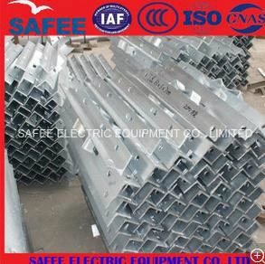 China Cross Arm (overhead line) Galvanized Angle Steel, High Pressure Cross Arm, Low Cross Arm pictures & photos