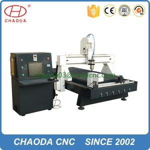 CNC Router Wood Carver Price Vacuum Bed with Rotary Axis pictures & photos