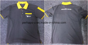 Customize Men Work Wear High Quality Polo Tshirt with Logo pictures & photos