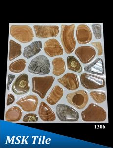 300X300 5D Crystal Polished Pepple Tile pictures & photos