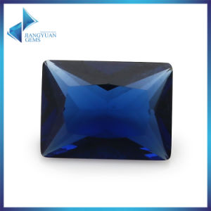 Retangle Sapphire Glass Stone for Jewelry pictures & photos