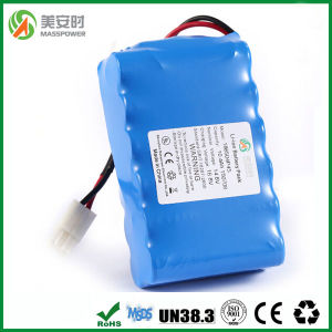 16 Cells 14.4V 10ah Li Ion Battery Pack pictures & photos