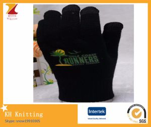 Thermo print touch gloves pictures & photos