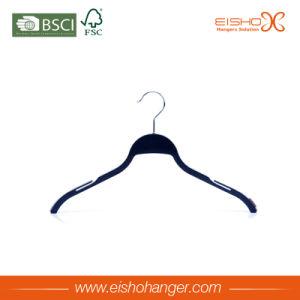 Good Quality Anti-Slip Plastic Hanger (STET0117) pictures & photos