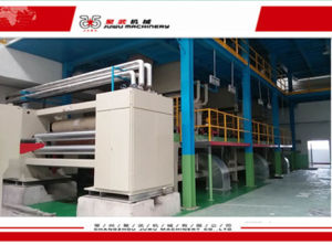 PP Single Die Spunbonded SSS Nonwoven Machinery pictures & photos