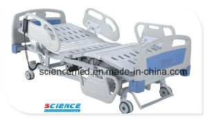 Five Functions ICU Electric Hospital Bed with Ce Certificate (SC-EB05) pictures & photos