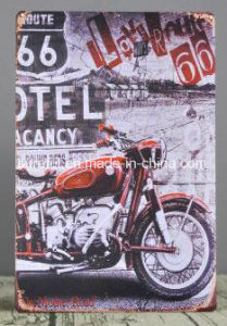 Custom 20*30cm Vintage Tin Plates pictures & photos