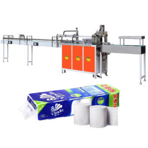 Multi Toilet Rolls Tissue Packing Equipment pictures & photos