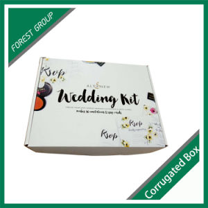 Custom Size and Printing Corrugated Clothes Box pictures & photos