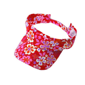 Cheap Cotton/Polyester Visor Cap (JRV064) pictures & photos