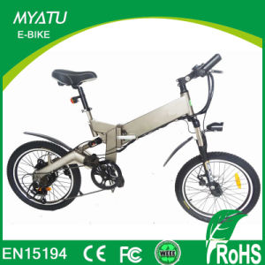 20′′ 250W Bafun Motor Full Suspension Mini Ebike with Removable Battery Foldable/Folding Electric Bike pictures & photos