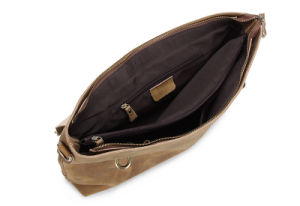 Brown Genuine Leather Germany Men Fashion Handbags (RS-3853) pictures & photos