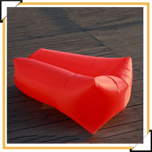 Inflatable Couch Air Sleeping Sofa Lounger Bag Portable Camping Bed pictures & photos