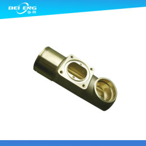 Precision Machining Brass Parts Threaded Female Brass Bushing pictures & photos