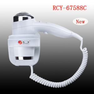Huipu Wall Mounted Hair Dryer Hotel Bathroom White Plastic 2000W Hair Dryer pictures & photos