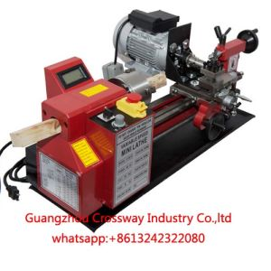 Mini CNC Woodworking Buddha Beads Lathe Machine
