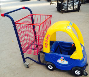 Hand Cart Supermarket Children Trolley pictures & photos