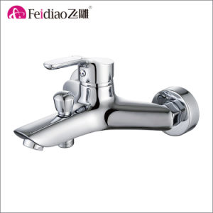 High Quality Good Price Two Hole Single Handle Basin Faucet pictures & photos