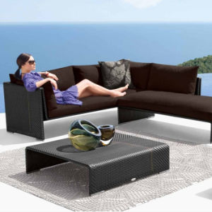 Hot Sale Garden Patio Outdoor Furniture Sitting Room Leisure Rattan/Wicker Sofa Set pictures & photos