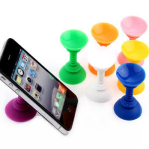 Wholesale Manufacture Price Double-Side Sucker Silicone Phone Holder pictures & photos
