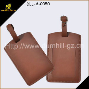 Brown Color New Leather Travel Tags Luggage Tags pictures & photos