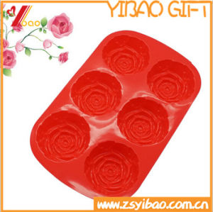 Hot Selling Baking Cake Tool Food Grade Silicone Moulds Round Shape Cakecup Mold pictures & photos