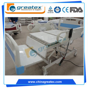 Electric Nursing Bed for Patient with PE Bed Board (GT-BE1003C) pictures & photos