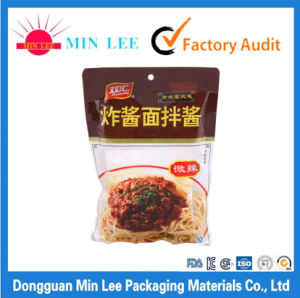 Customized Flexible Printing Liquid Packaging Bags Plastic Sauce Sachet pictures & photos