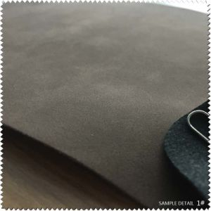 Faux Leather& Synthetic Leather Brush-off PU Leather for Shoe (S441130) pictures & photos