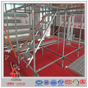 Q235 Metal Modular Quicklock Scaffolding Firm Structure Design pictures & photos