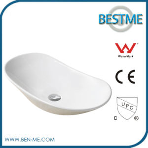 Factory Price Acrylic Solid Surface Corian Bathroom Wash Basin pictures & photos