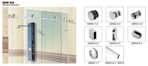 Double Door Shower Kit Hardware Accessories pictures & photos