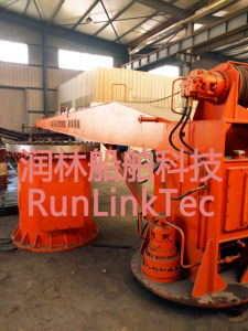 Slewing Crane/Marine Crane/Electrci/Hydraulic/Marine Equipment/Ship Building pictures & photos