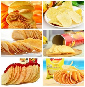 Lays Automatic Potato Chips Making Machine Price pictures & photos