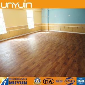 W-2 Wooden Grain PVC Vinyl Tile for Houses, Commercial PVC Floor pictures & photos
