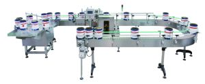 Pipe Seal Jar Labeling Machine pictures & photos