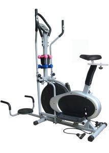 Multifunction Dual Cross Trainer Machine Elliptical Fan Bike pictures & photos