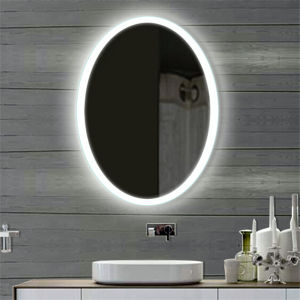 Wall Hanging Hotel Project Bathroom LED Lighting Defogger Mirror pictures & photos