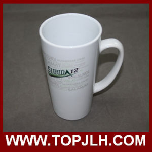 Special Ceramic Coffee Mug 17oz White Cone Cup pictures & photos