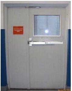 Fireproof Steel Door with UL Label pictures & photos