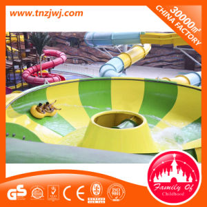 Water Island Fiberglass Slide Outdoor Playground Water Roller Slide with Spiral Slides pictures & photos