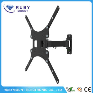 TV Wall Mount Monitor Bracket with Full Motion Articulating Tilt Arm pictures & photos