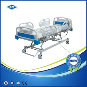 Low Price Five Function Electric Hospital Bed (BS-858A) pictures & photos